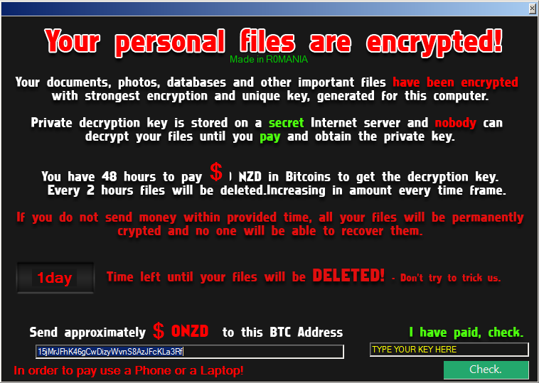 Вирус-шифрователь (программа-вымогатель) NoobCrypt