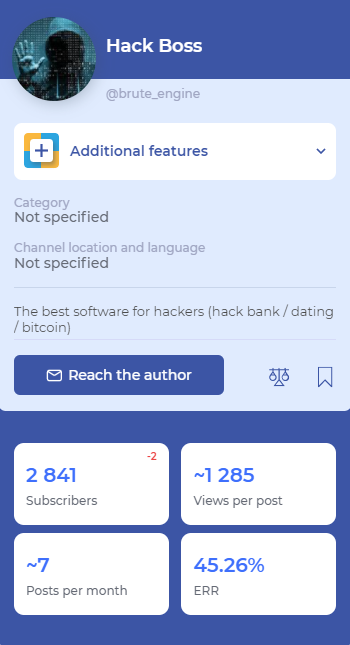 Malware HackBoss que se espalha via canais do Telegram