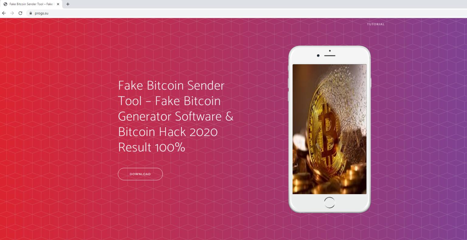 Fake Bitcoin Sender infecta dispositivos com o malware HackBoss