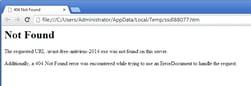 Globe ransomware message