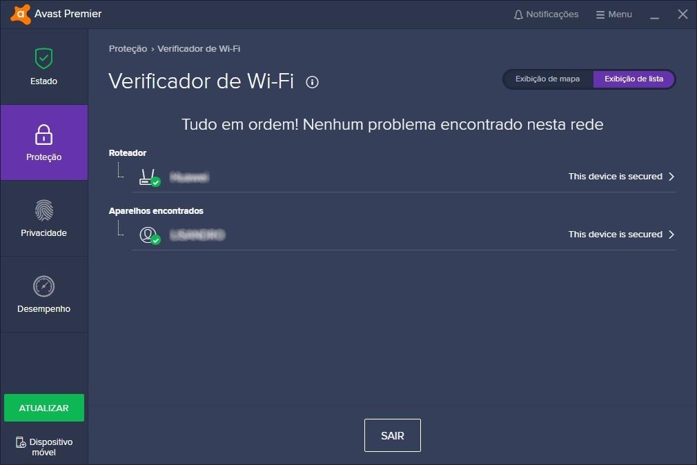 Avast: Verificador de Wi-Fi