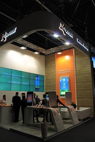 Avast booth at MobileWorld Congress