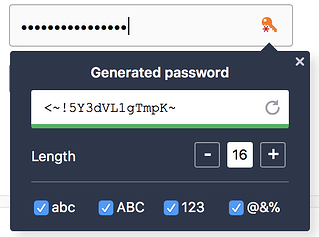 Avast Passwords strong password generator for easy management