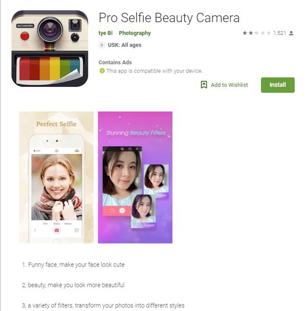pro-selfie-beauty-app-listing