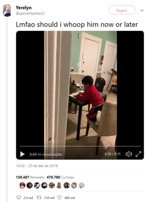 Menino engana a mãe usando a Alexa