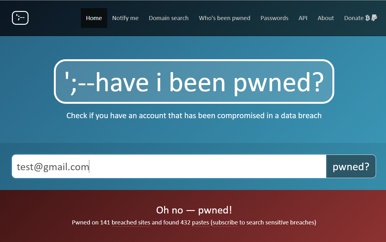 have-i-been-pwned