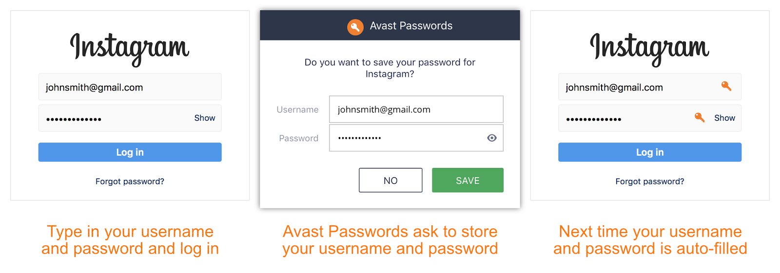 avast passwords - convenience of managing your passwords
