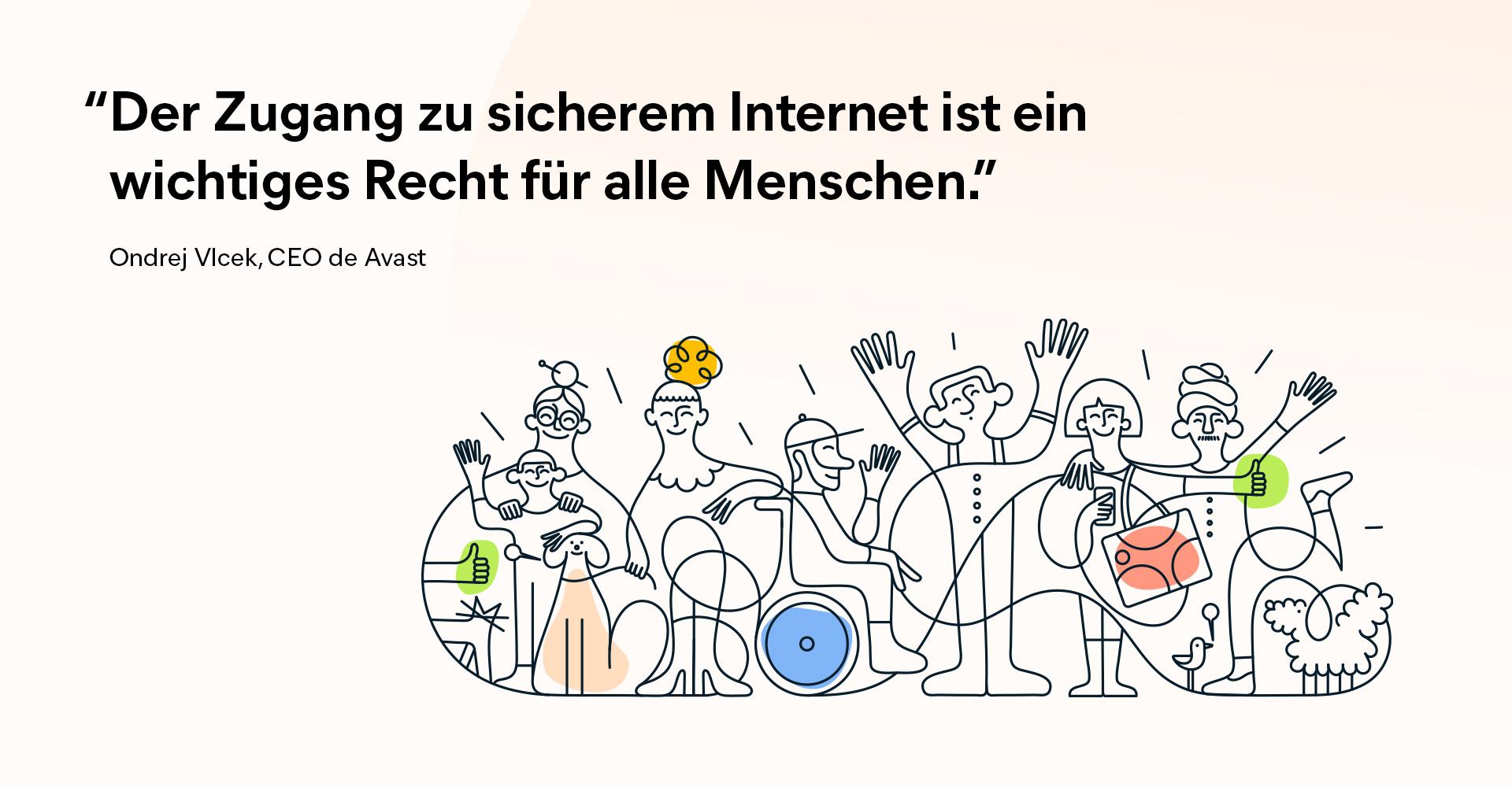 Avast setzt sich für den Schutz der digitalen Freiheit für alle ein